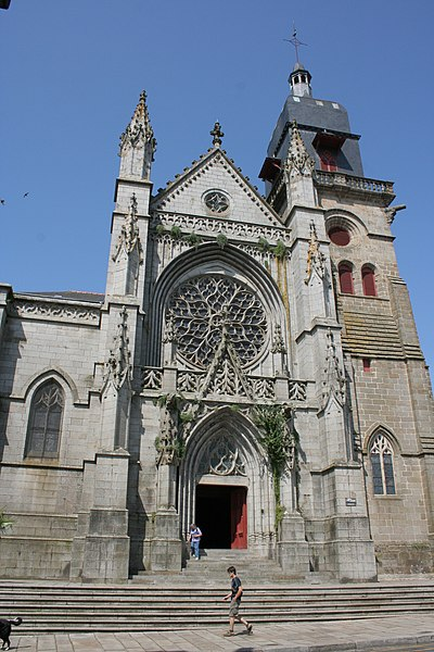 Photo du Monument Historique Eglise Saint-Léonard situé à Fougères