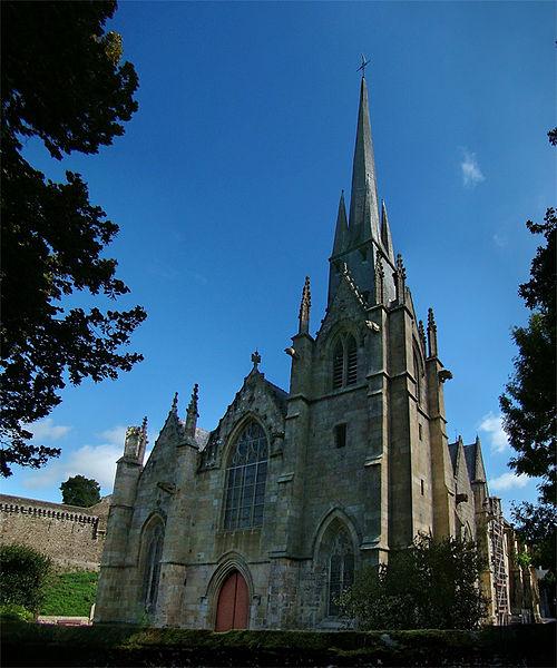 Photo du Monument Historique Eglise Saint-Sulpice situé à Fougères