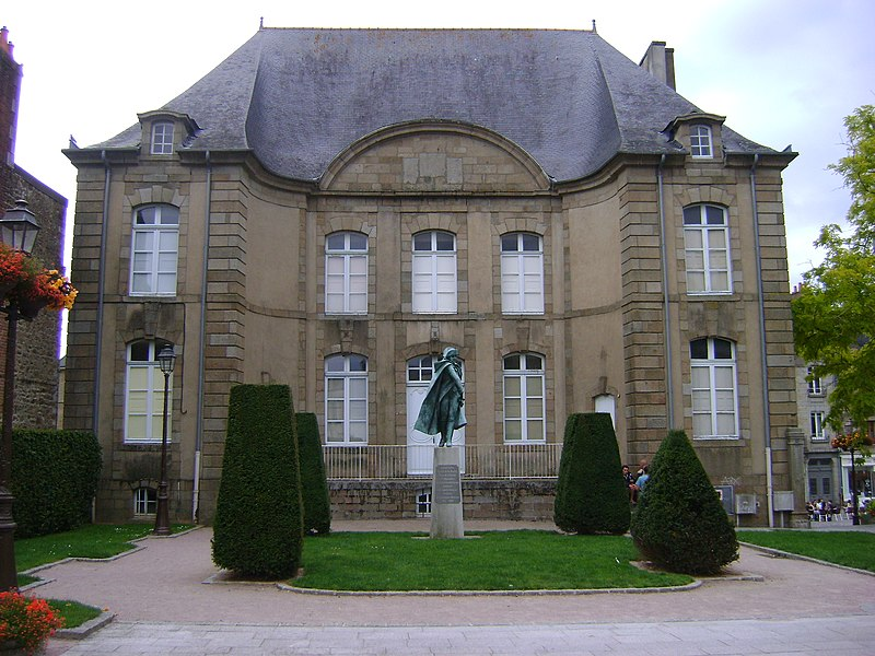 Photo du Monument Historique Ancien hôtel de la Belinaye situé à Fougères