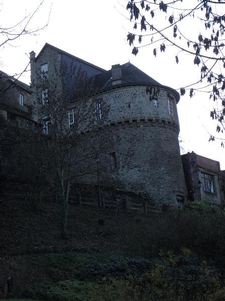 Photo du Monument Historique Tour Desnos situé à Fougères