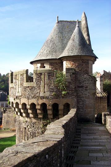 Photo du Monument Historique Tour Nichot situé à Fougères