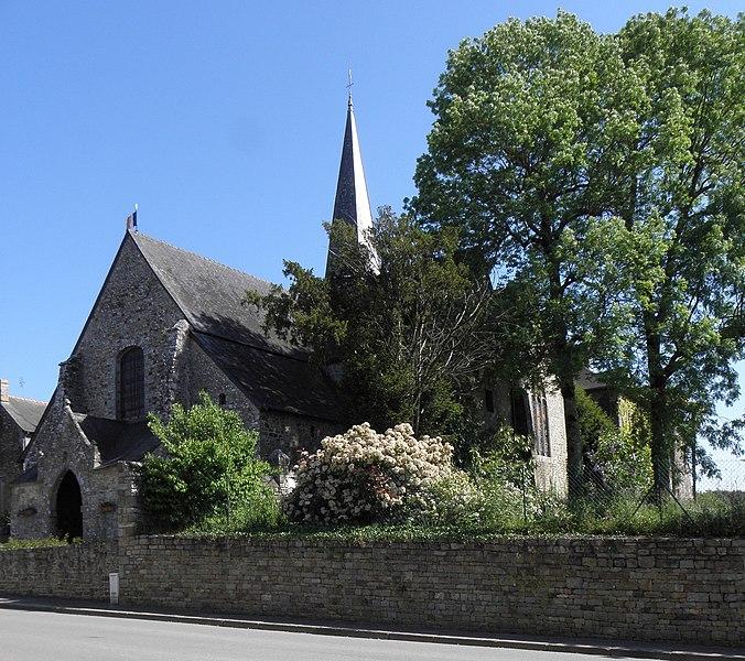 Photo du Monument Historique Eglise Saint-Exupère situé à Gahard