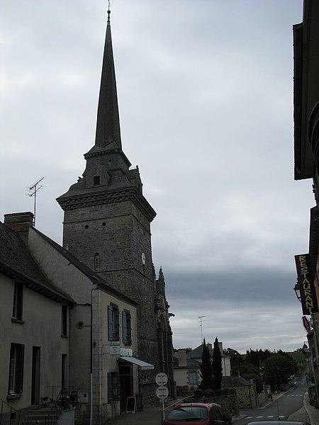Photo du Monument Historique Eglise Saint-Sulpice situé à Gennes-sur-Seiche
