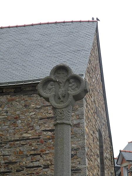 Photo du Monument Historique Croix du 15e siècle situé à Grand-Fougeray