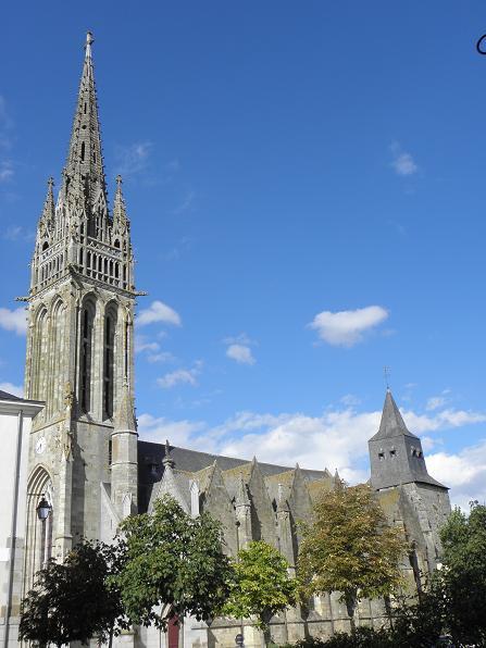 Photo du Monument Historique Eglise Notre-Dame situé à Guerche-de-Bretagne (La)