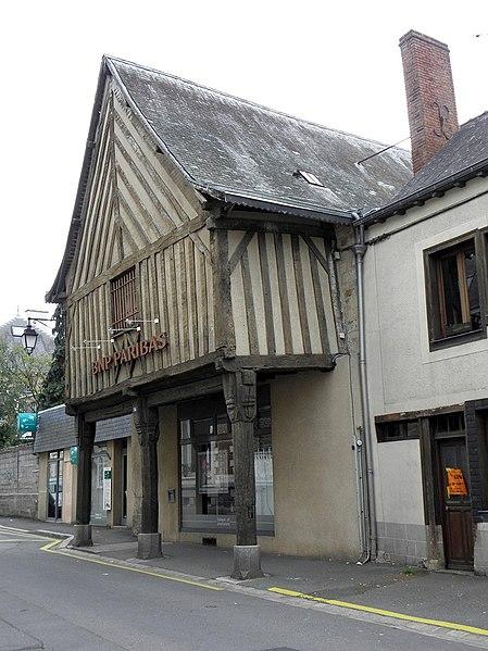 Photo du Monument Historique Maison situé à Guerche-de-Bretagne (La)