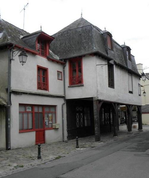 Photo du Monument Historique Maisons situé à La Guerche-de-Bretagne