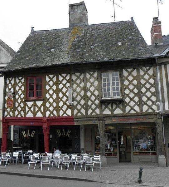 Photo du Monument Historique Maison Briant situé à La Guerche-de-Bretagne