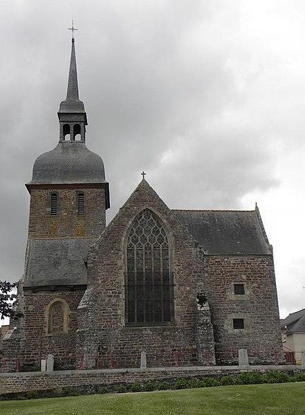 Photo du Monument Historique Eglise Saint-Eloi situé à Iffendic