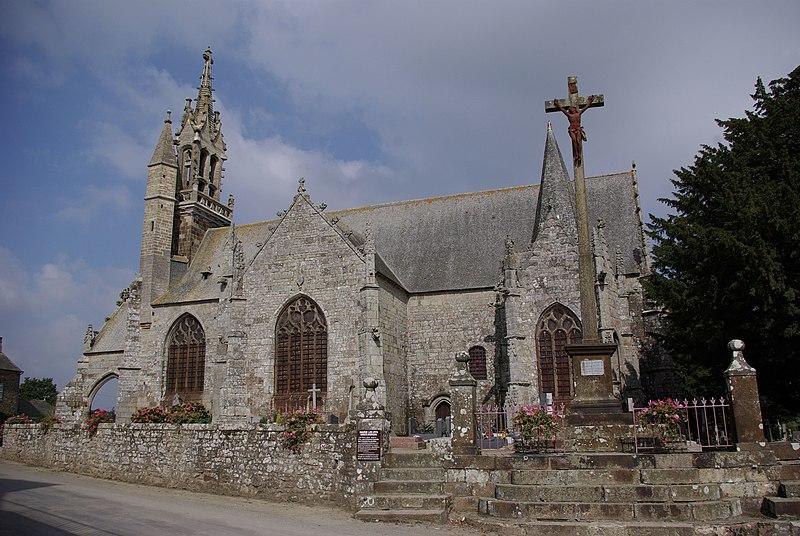 Photo du Monument Historique Eglise Saint-Ouen situé à Les Iffs