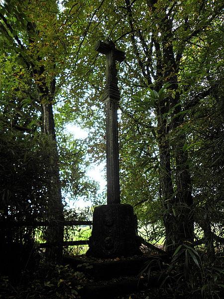 Photo du Monument Historique Calvaire dit de la Ville Gontier situé à Landéan