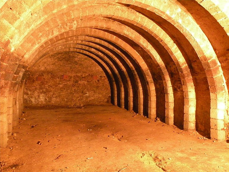 Photo du Monument Historique Anciens celliers situé à Landéan