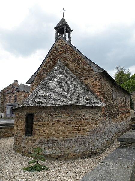 Photo du Monument Historique Chapelle Sainte-Agathe situé à Langon