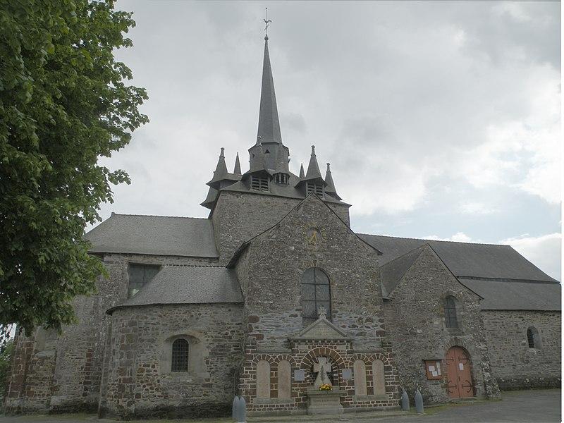 Photo du Monument Historique Eglise Saint-Pierre situé à Langon