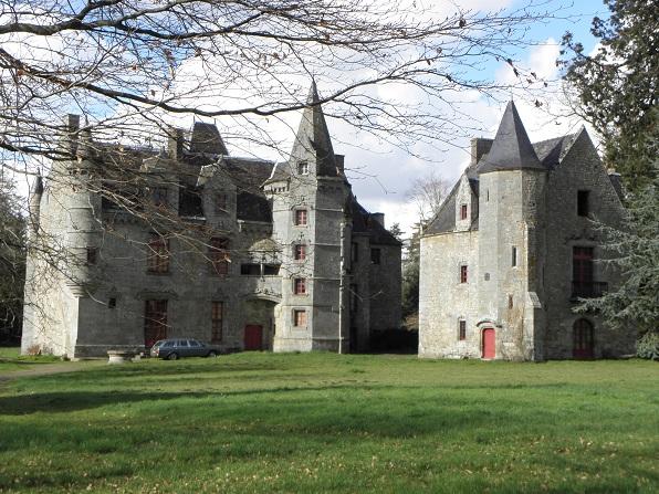 Photo du Monument Historique Château situé à Lanrigan