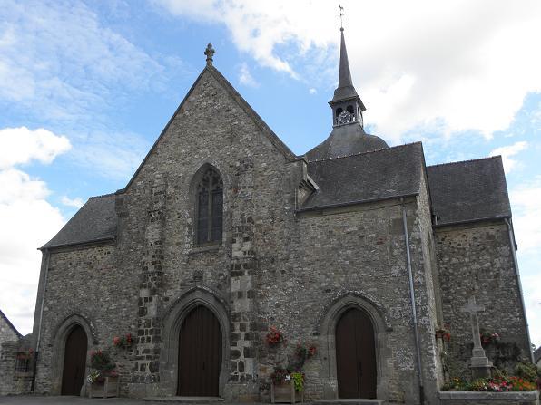 Photo du Monument Historique Eglise Notre-Dame-de-l'Assomption situé à Livré-sur-Changeon