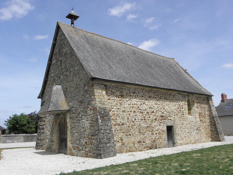 Photo du Monument Historique Chapelle Saint-Job situé à Louvigné-de-Bais