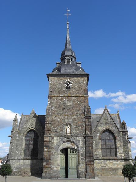 Photo du Monument Historique Eglise Saint-Patern situé à Louvigné-de-Bais