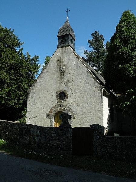 Photo du Monument Historique Chapelle Sainte-Anne situé à Le Minihic-sur-Rance