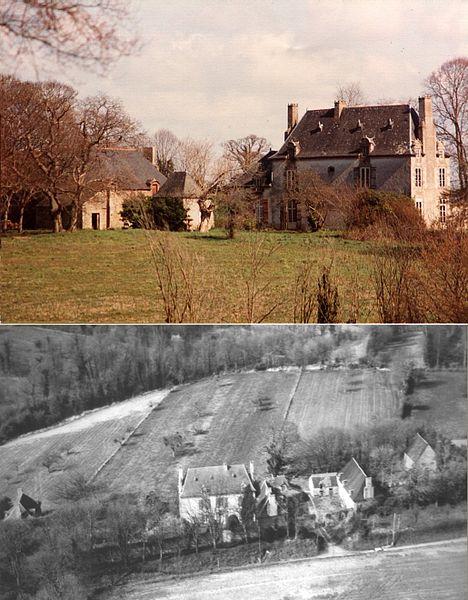 Photo du Monument Historique Manoir du Houx et sa chapelle situé à Le Minihic-sur-Rance