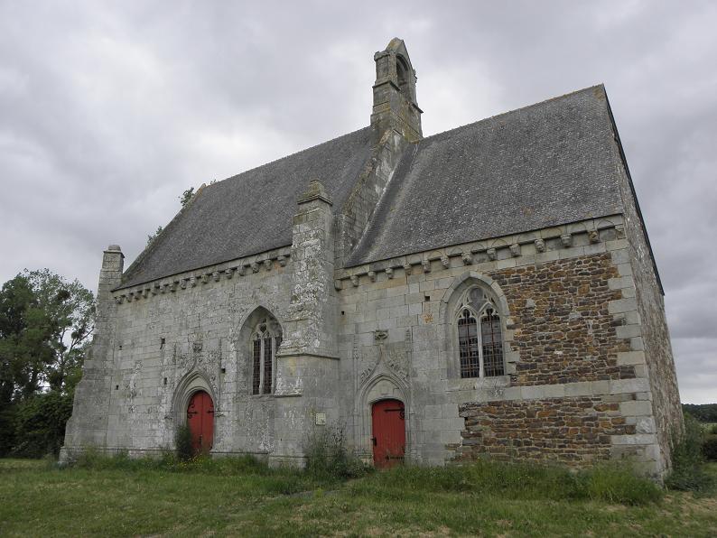 Photo du Monument Historique Chapelle Notre-Dame-de-Lannelou situé à Montauban-de-Bretagne