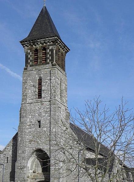 Photo du Monument Historique Eglise Saint-Pierre situé à Mont-Dol