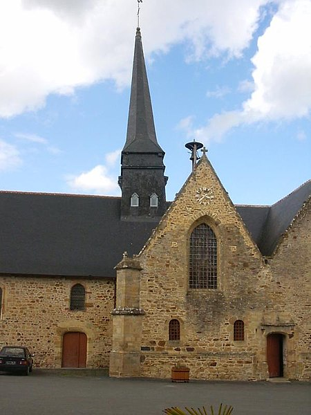 Photo du Monument Historique Eglise Saint-Martin situé à Moulins