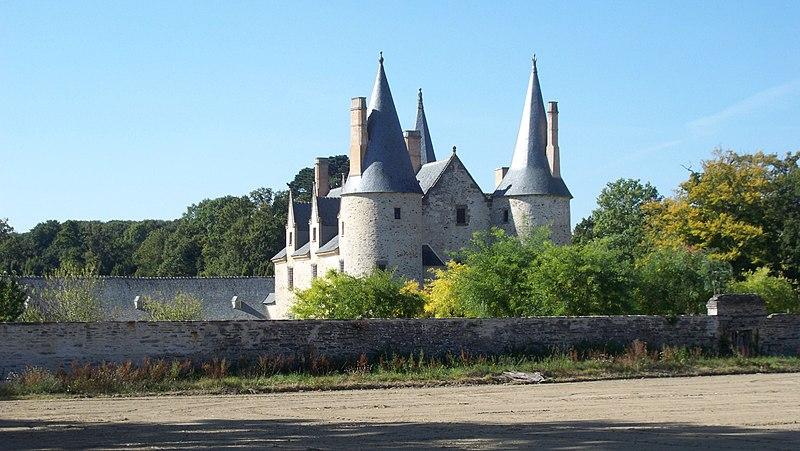 Photo du Monument Historique Manoir de Boisorcant situé à Noyal-sur-Vilaine