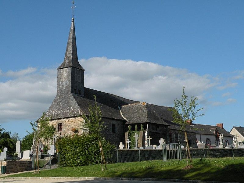 Photo du Monument Historique Eglise Notre-Dame situé à Parthenay-de-Bretagne