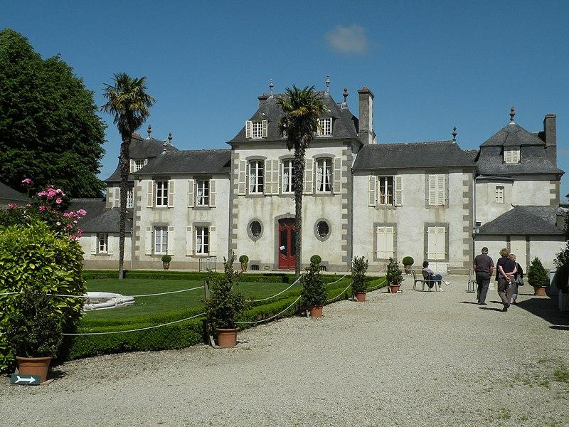Photo du Monument Historique Domaine de Montmarin situé à Pleurtuit