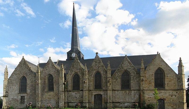Photo du Monument Historique Eglise Saint-Crépin ou Saint-Crépinien situé à Rannée