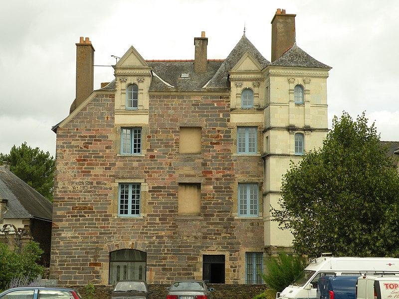 Photo du Monument Historique Hôtel de Richelieu situé à Redon