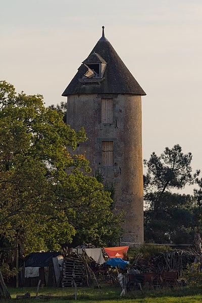 Photo du Monument Historique Moulin des Buttes Saint-Julien situé à Renac