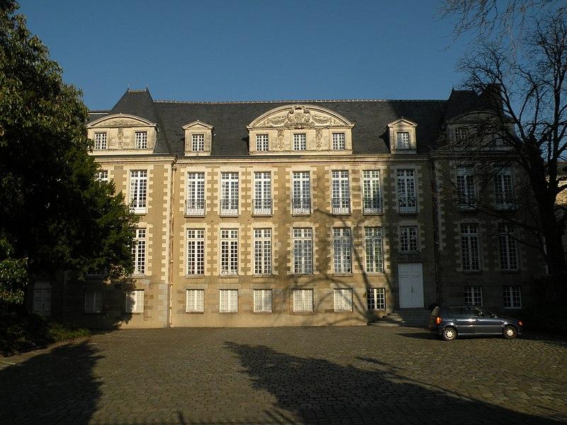 Photo du Monument Historique Ancienne abbaye Saint-Melaine situé à Rennes