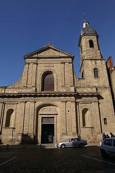 Photo du Monument Historique Basilique Saint-Sauveur situé à Rennes
