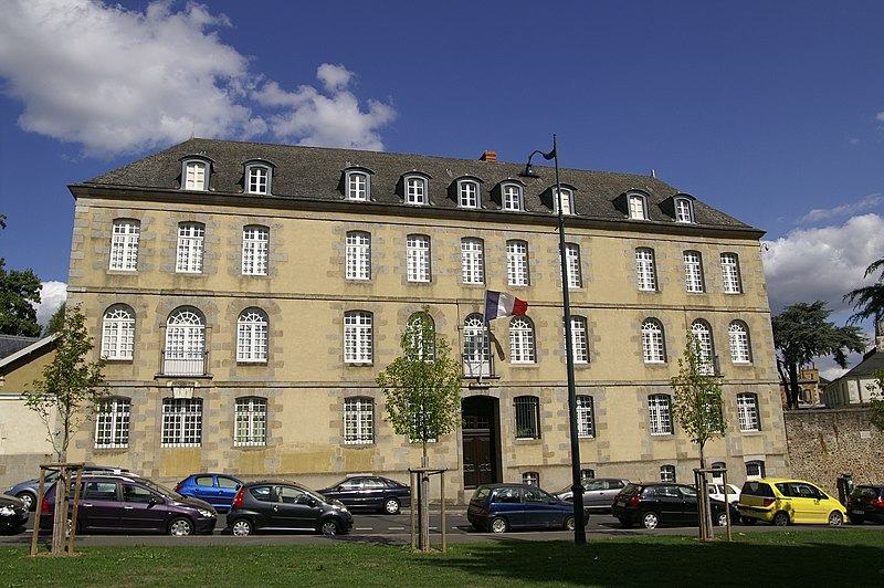 Photo du Monument Historique Ancienne caserne du Bon Pasteur situé à Rennes