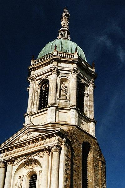 Photo du Monument Historique Eglise Notre-Dame-en-Saint-Mélaine situé à Rennes