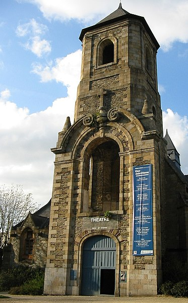 Photo du Monument Historique Ancienne église Saint-Etienne situé à Rennes