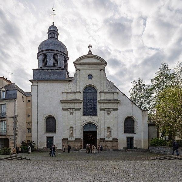 Photo du Monument Historique Eglise Saint-Etienne situé à Rennes