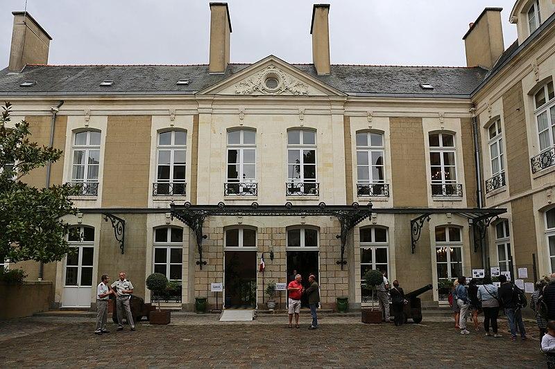 Photo du Monument Historique Ancien hôtel de Boisgeffroi situé à Rennes