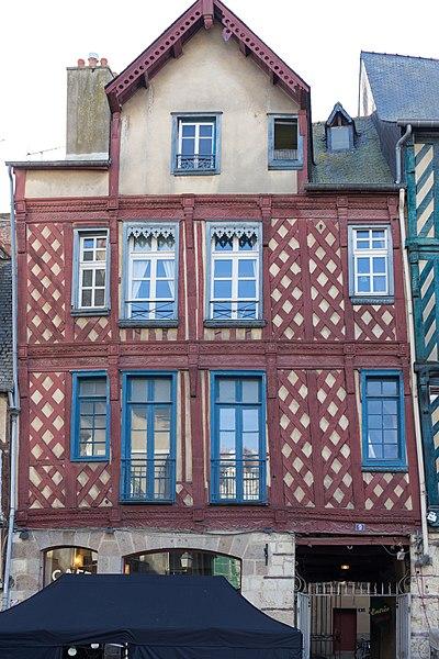 Photo du Monument Historique Maison ou hôtel de Bretagne situé à Rennes