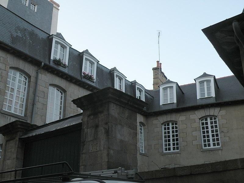 Photo du Monument Historique Immeuble ou hôtel de Chalain situé à Rennes