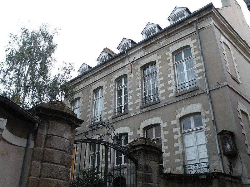Photo du Monument Historique Ancien hôtel de Cintré situé à Rennes