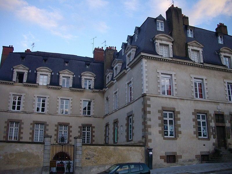 Photo du Monument Historique Ancien hôtel du Molant situé à Rennes