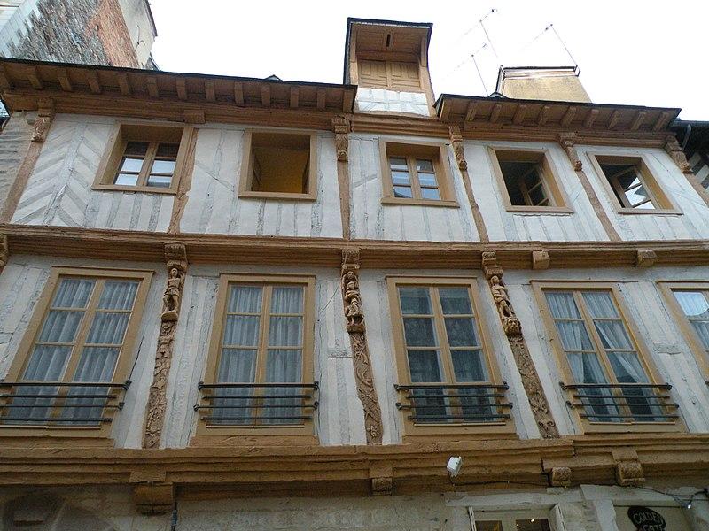 Photo du Monument Historique Hôtel de la Moussaye situé à Rennes
