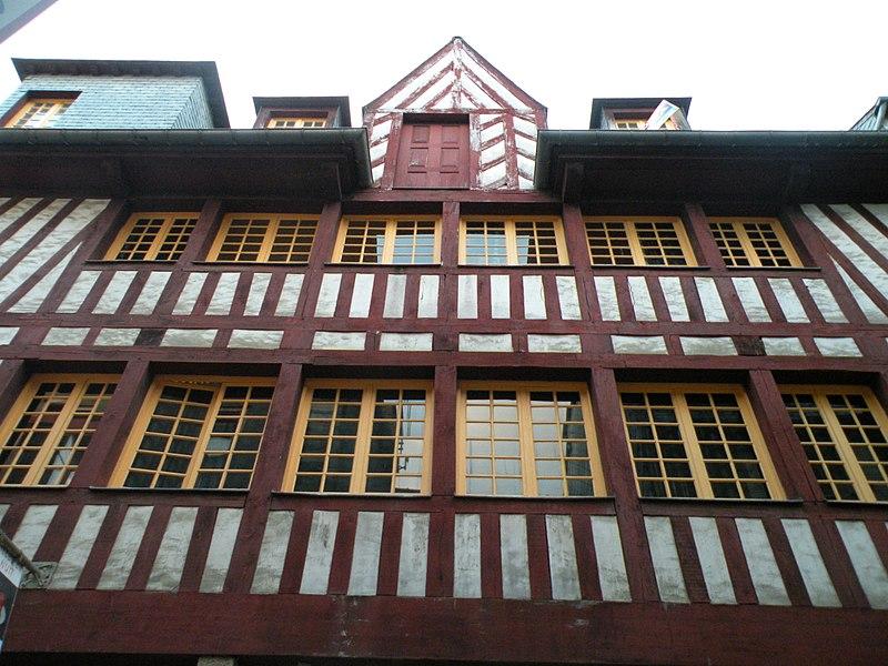 Photo du Monument Historique Maison du 15e siècle situé à Rennes