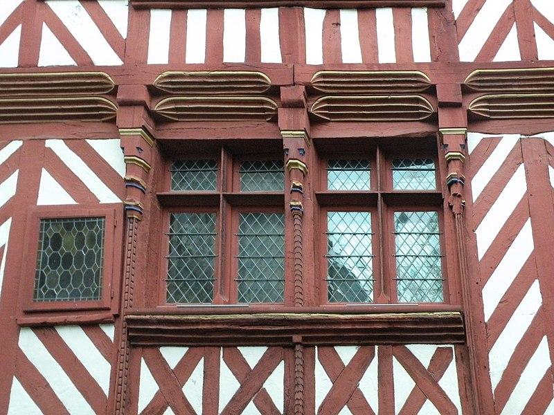 Photo du Monument Historique Maison du 16e siècle, dite Maison du Guesclin situé à Rennes