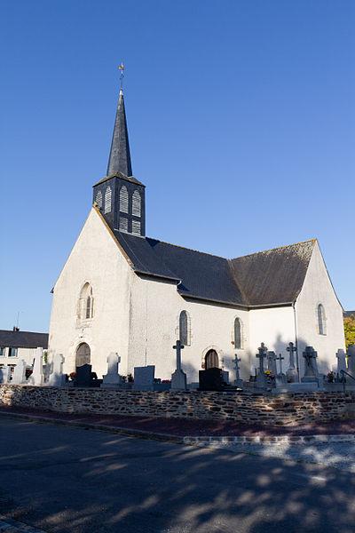 Photo du Monument Historique Eglise de Moigné situé à Rheu (Le)