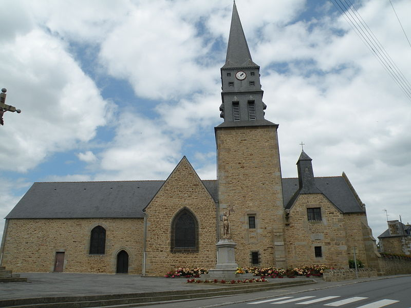 Photo du Monument Historique Eglise Saint-Anne situé à Romagné