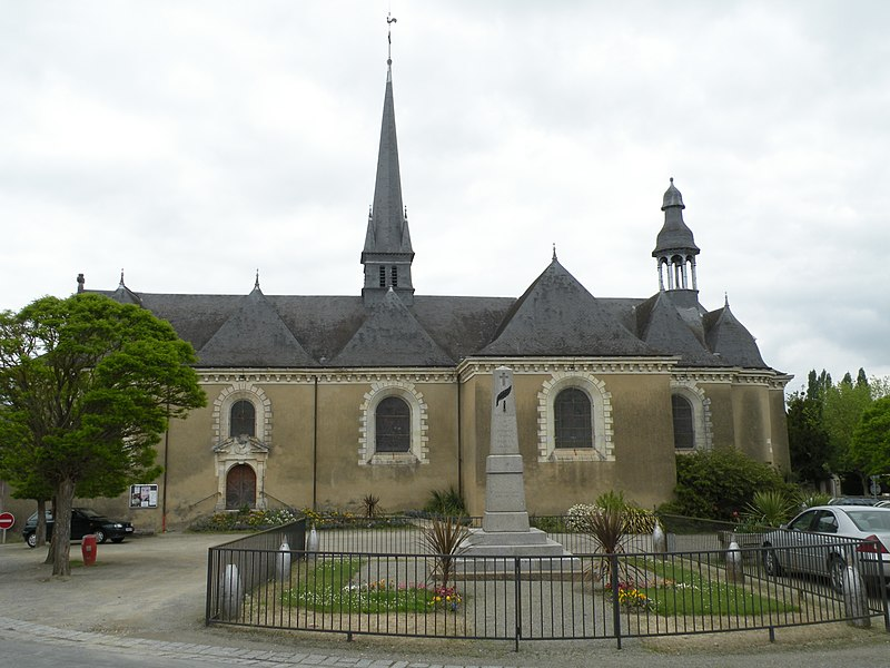 Photo du Monument Historique Eglise Saint-Armel situé à Saint-Armel